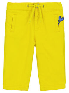 Yellow pants GUJAUPAN2 / 19WG10H2PANB114