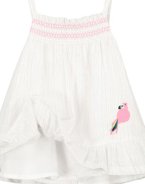 Baby girls' strappy dress FICUROB4 / 19SG09N4ROB000