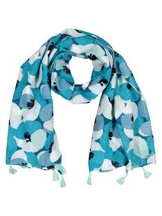 Girls' printed scarf FYABELFOUL / 19SI01R1FOU099