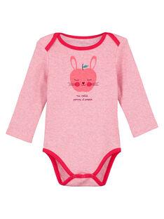 Heather pink Body suit GEFIBODPOM / 19WH1364BDLD314