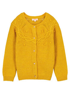 Yellow Cardigan GAJAUCAR1 / 19W901H2CARB107