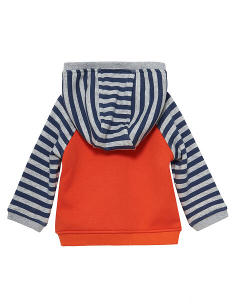 Orange Waistcoat JUVIGIL / 20SG10D1GILE400