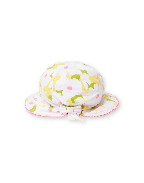 Baby girl flowered hat LYIBALCHA2 / 21SI09O1CHA000