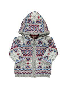 Baby boys' zipped hooded jacket DUCRAGIL / 18WG10R1GIL099
