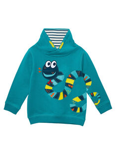 Dark Turquoise Sweat Shirt JOCLOSWE / 20S90211SWEC217