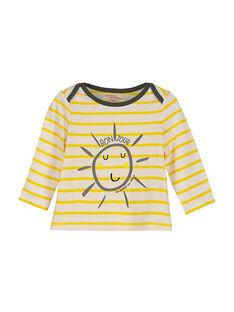 Baby boys' long-sleeved T-shirt FULITEE4 / 19SG1024TML099