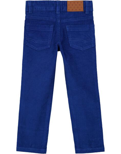 Navy Pants GOJOPAVEL3 / 19W90234D2B720