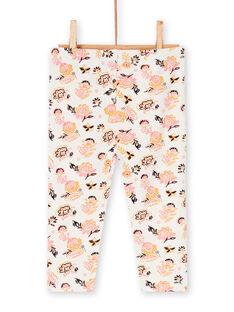 Girl's layette leggings LYIPOELEG1 / 21SI09Y1CAL001
