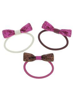 Set of girls' hair elastics DYACHOELA / 18WI01F1ELA099