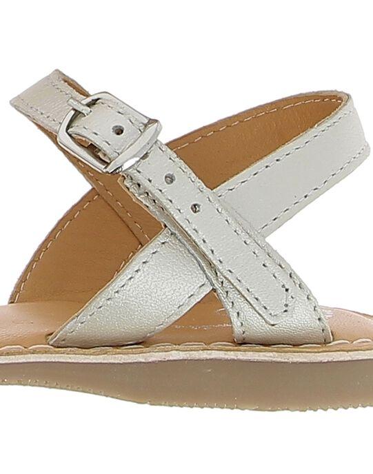 White Sandal CFSANDTRES / 18SK35W5D0E000
