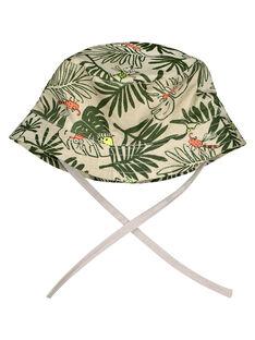 Baby boys' tropical hat FYUYECHA / 19SI10M1CHA099