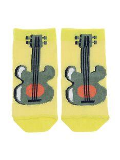 Baby boys' mid length socks CYUPICHO / 18SI10I1SOQ412