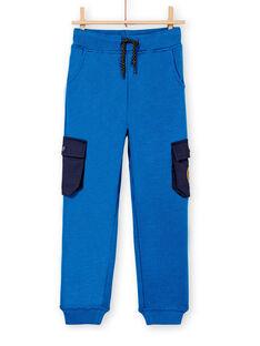 Blue PANTS KOSAJOG / 20W902O2PANC221