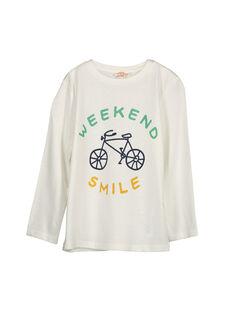 Boys' long-sleeved T-shirt FOJOTEE1 / 19S90231D32001