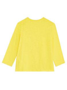 Golden yellow LONGSLEEVE T-SHIRT KOJOTEE4 / 20W90235D32106