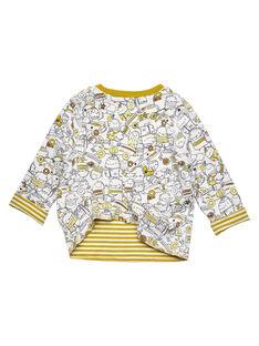 Off white T-shirt GUJAUTEE2 / 19WG10H1TML001