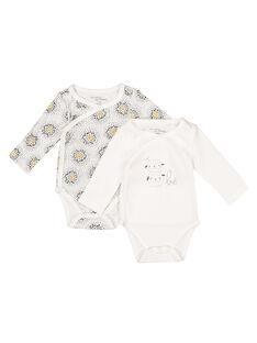 Pack of unisex babies' bodysuits GOU1BOD3 / 19WF7712BOD001