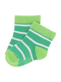 Baby boys' striped socks CYUJOCHO11B / 18SI10SASOQ099