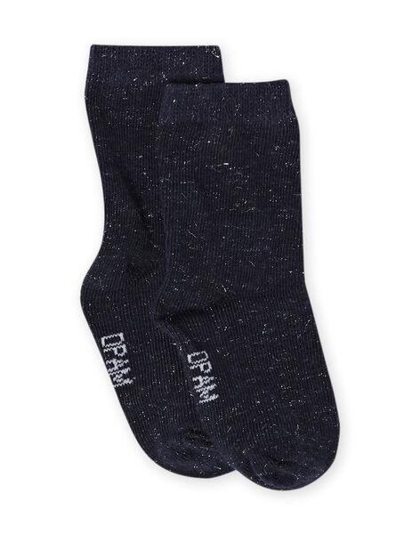 Baby girl navy blue socks MYIJOSOQLU2 / 21WI0917SOQ070