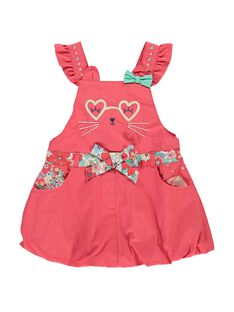 Baby girls' strappy dress CIBUROB4 / 18SG09K4ROBF515