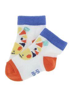 Baby boys' mid length socks CYUFRICHO / 18SI10H1SOQ000