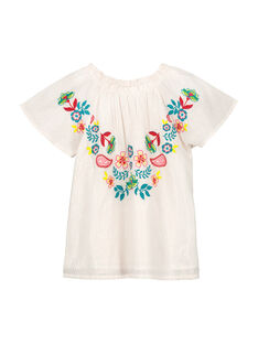 Girls' fancy smock FACACHEM / 19S901D1CHE099