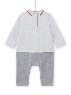 Combination grey mottled pattern fox and hedgehog birth boy MOU1COM3 / 21WF0441CBLJ920