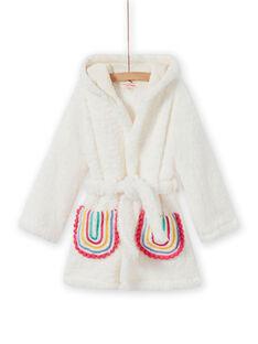 Girl's llama and rainbow sherpa robe MEFAROBLAM / 21WH1191RDC001