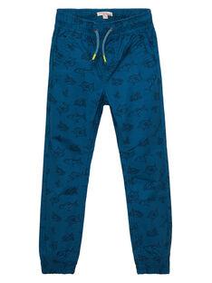 Blue pants JOBOPAN / 20S902H1PANC219