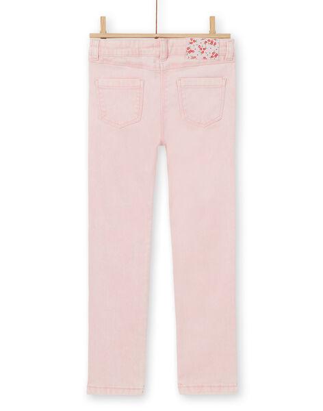 Slim 5 pocket acid wash jeans LAROUPANT / 21S901K1PAND326