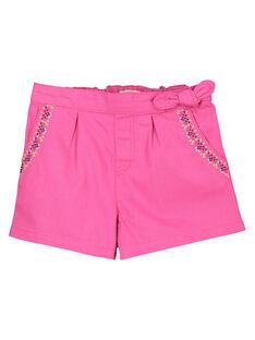 Girls' fancy shorts FATUSHORT / 19S901F2SHO712