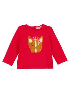 Red T-shirt GISANTEE2 / 19WG09C1TML050