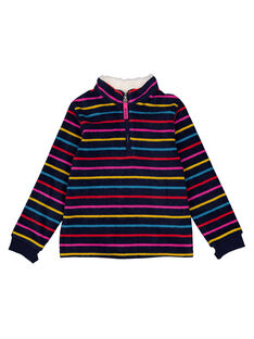 Navy Sweat Shirt GASKISWEA / 19W901W1SWE070
