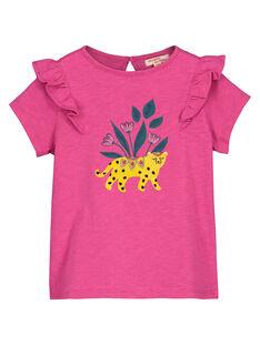 Purple T-shirt FATUTI3 / 19S901F3TMC712