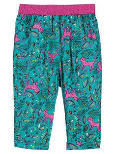 Baby girls' loose trousers FITUPAN / 19SG09F1PAN202