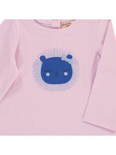 Baby girls' long-sleeved T-shirt CIKLETEE2 / 18SG09D2TMLH700