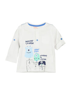 Baby boys' long-sleeved T-shirt FUNETUN / 19SG10B3TML000