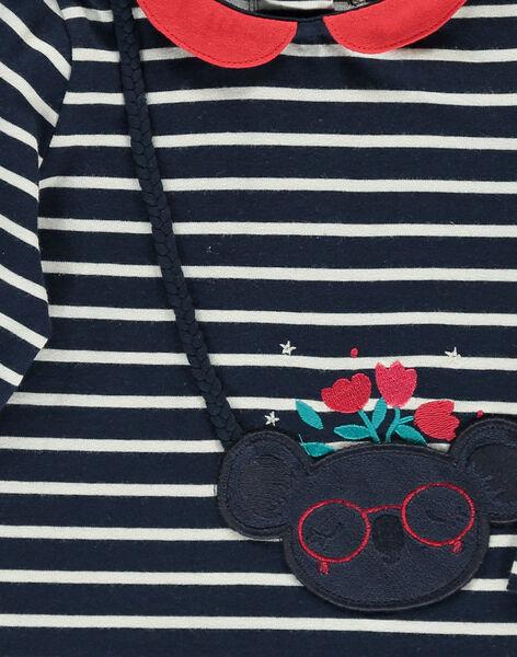 Baby girls' fancy long-sleeved T-shirt DITRIBRA / 18WG09D1BRA099