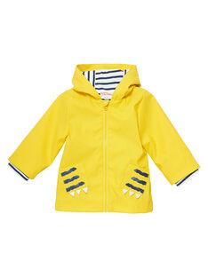 Yellow Rain coat JUGROIMP / 20SG10I1IMPB114