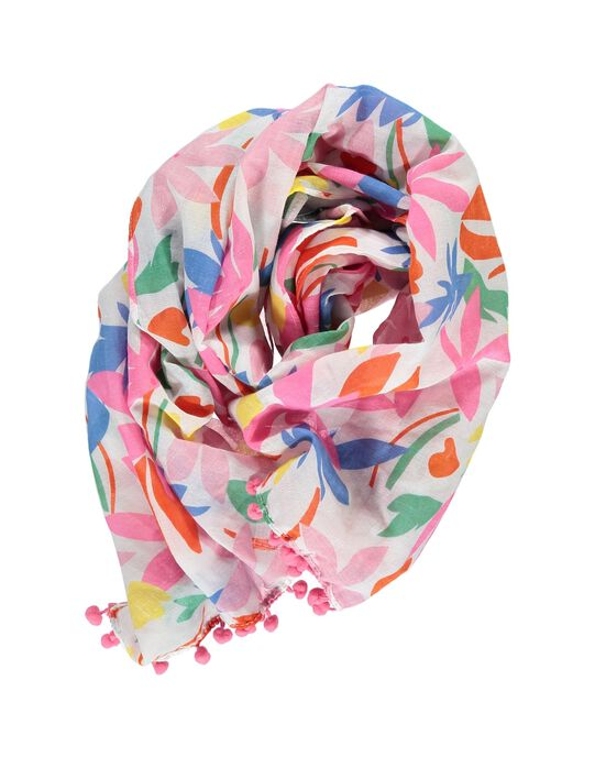Girls' fancy scarf CYAMAFOUL / 18SI01U1FOU099