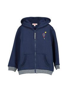Boys' zipped hoodie FOJOJOH1 / 19S902Y1D33070