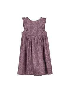 Girls' party dress FAJOUROB1 / 19S901T1ROB099