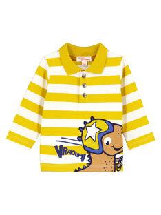 Yellow Polo shirt GUJAUPOL / 19WG10H1POLB114