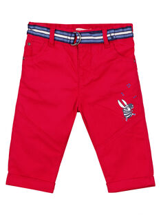 Red pants GUTRIPAN1 / 19WG10J2PANF504