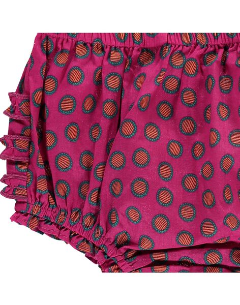 Baby girls' bloomers CIJOBLOO10 / 18SG09S4BLR099