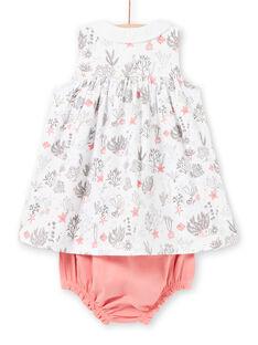 White baby girl outfit LOU2ENS1 / 21SF03I1ENS000
