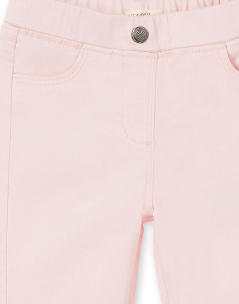 Pink jegging in dyed garment LAJOJEG3 / 21S90143D2B309
