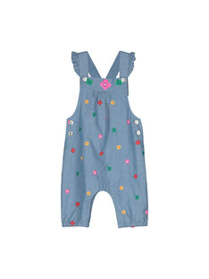 Baby girls' dungarees FICOSAL / 19SG0981SAL704