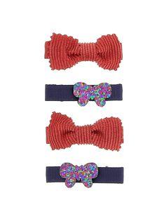 Set of girl's hair clips DYAVIOCLIC1 / 18WI01H1BRT953
