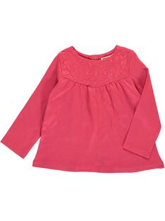 Baby girls' long-sleeved T-shirt CIJOTEE2B / 18SG09R2TMLF503